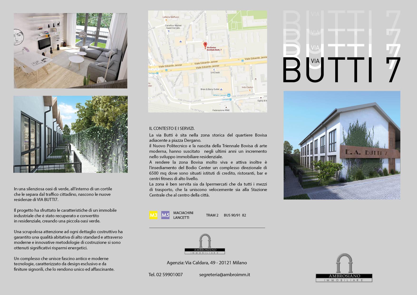 Brochure Via Butti 7 - Milano